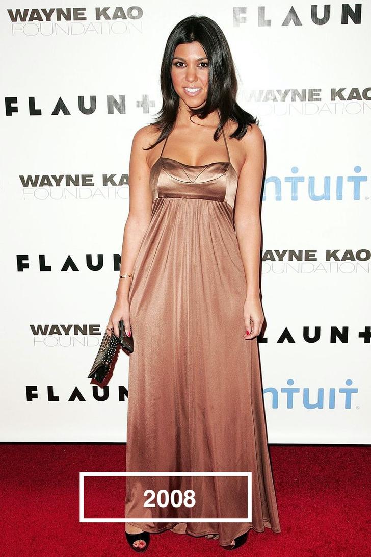 6 32 - Estos son los mejores y peores looks de las Kardashian durante los últimos años. ¡Vaya evolución!