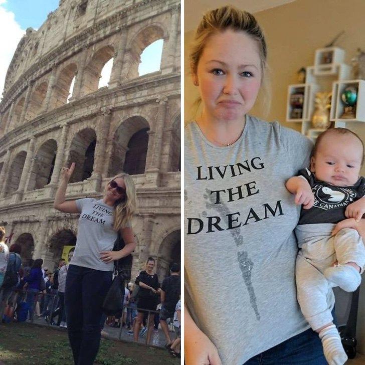 mm10 - 40 divertidas fotos que muestran cómo te cambia la vida después de que tienes hijos. Ya no es igual