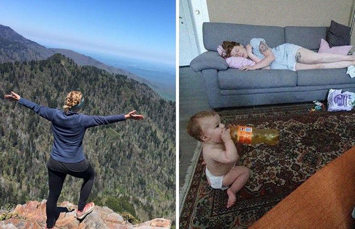 mm32 - 40 divertidas fotos que muestran cómo te cambia la vida después de que tienes hijos. Ya no es igual