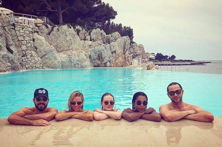 famosos vacaciones juntos3 - 18 fotos de famosos que salieron de vacaciones con otras celebs. Los Jonas ni se separan