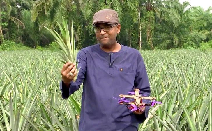 malasia dron tecnologia reciclaje pina fruta ciencia0005 - En Malasia los científicos utilizan hojas de piña para hacer drones. Ciencia y naturaleza unidas