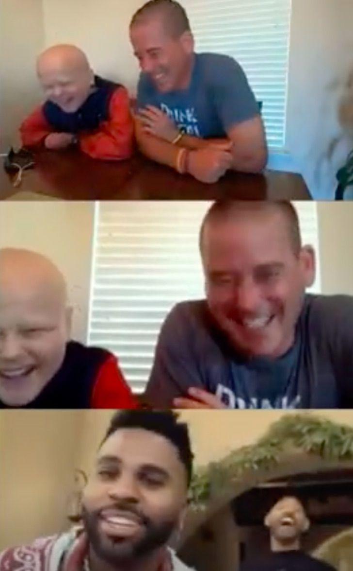 will smith navidad0007 - Will Smith se aseguró que un niño con cáncer tuviera su mejor Navidad: le regaló un Playstation 5