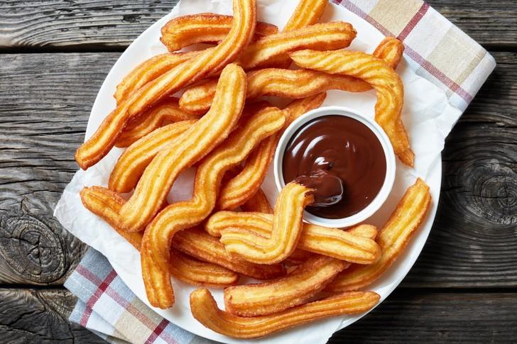 churro patatas alimento sabor infantes sabor0002 - Aprende a hacer deliciosos churros de patata. No solo son deliciosos sino que también alimentan