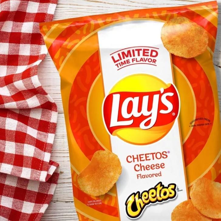 cheetos lays 2 - Lay's endiabla sus papas con edición limitada sabor a Cheetos y Doritos. Para ensuciarse los dedos