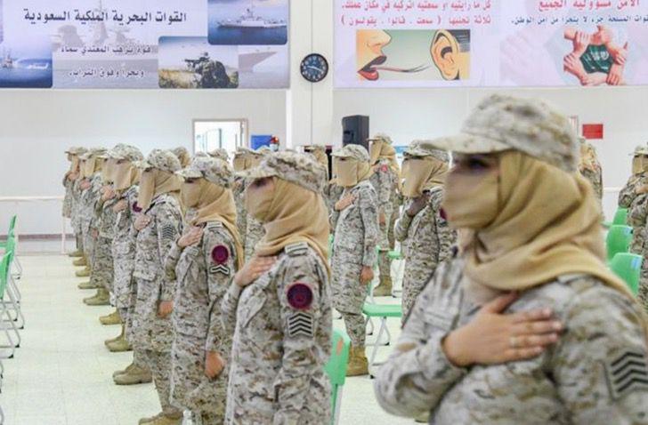 Captura de Pantalla 2021 09 02 a las 17.24.37 - Arabia Saudita celebró graduación de primera promoción de mujeres militares. Un avance histórico