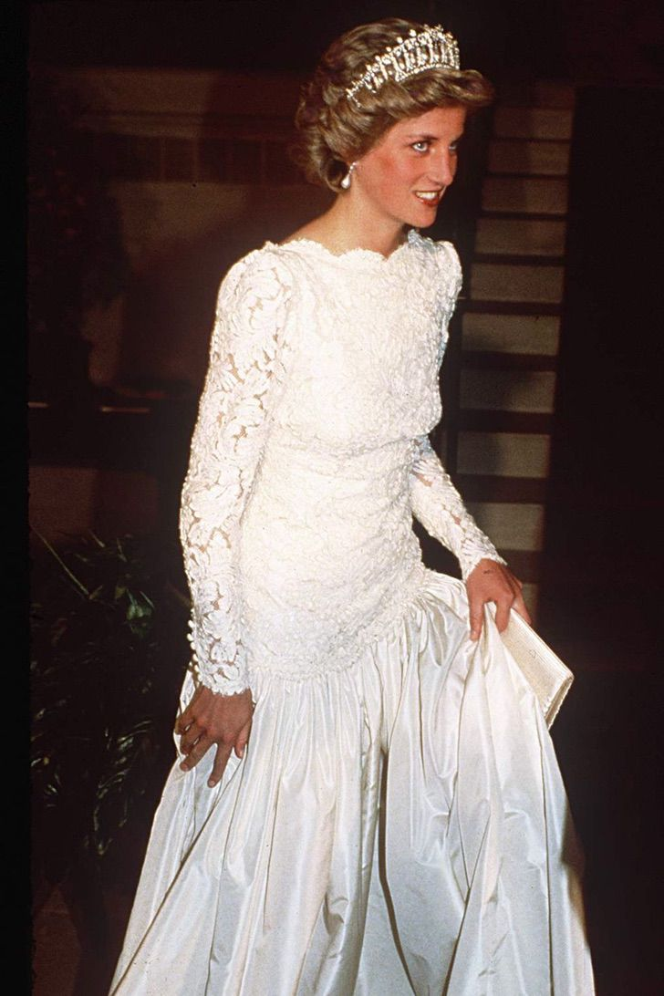lady di princesa 2 - 20 elegantes atuendos con los que la princesa Diana se vio como una auténtica princesa