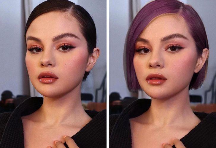 famosas iconicos looks3 - 11 mujeres famosas y cómo cambiaría su apariencia si dejaran de usar sus icónicos looks