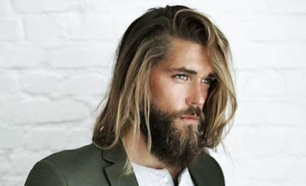 Image result for hombres con barbas y cabello largo
