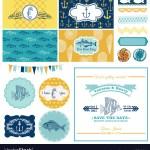 Nautical Sea Theme Set For Party Decoration