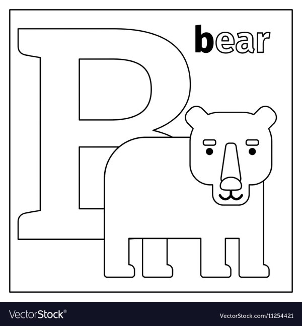 letter b coloring page # 20
