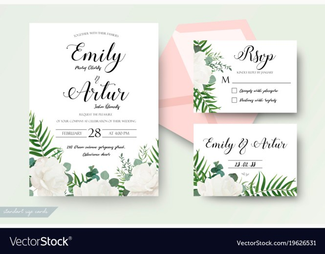 Wedding Cards Fl Design Invite Card