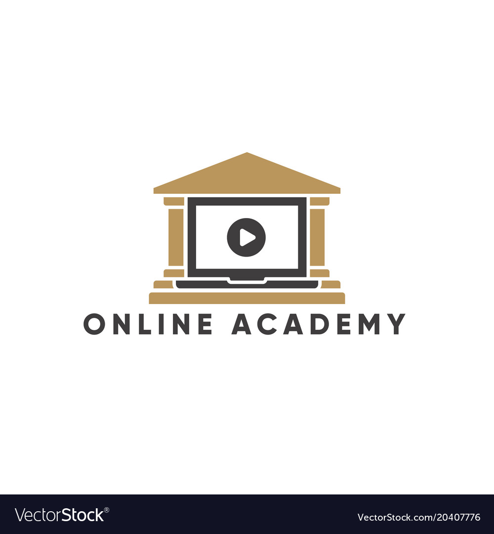 Online Education And Learning Logo Template