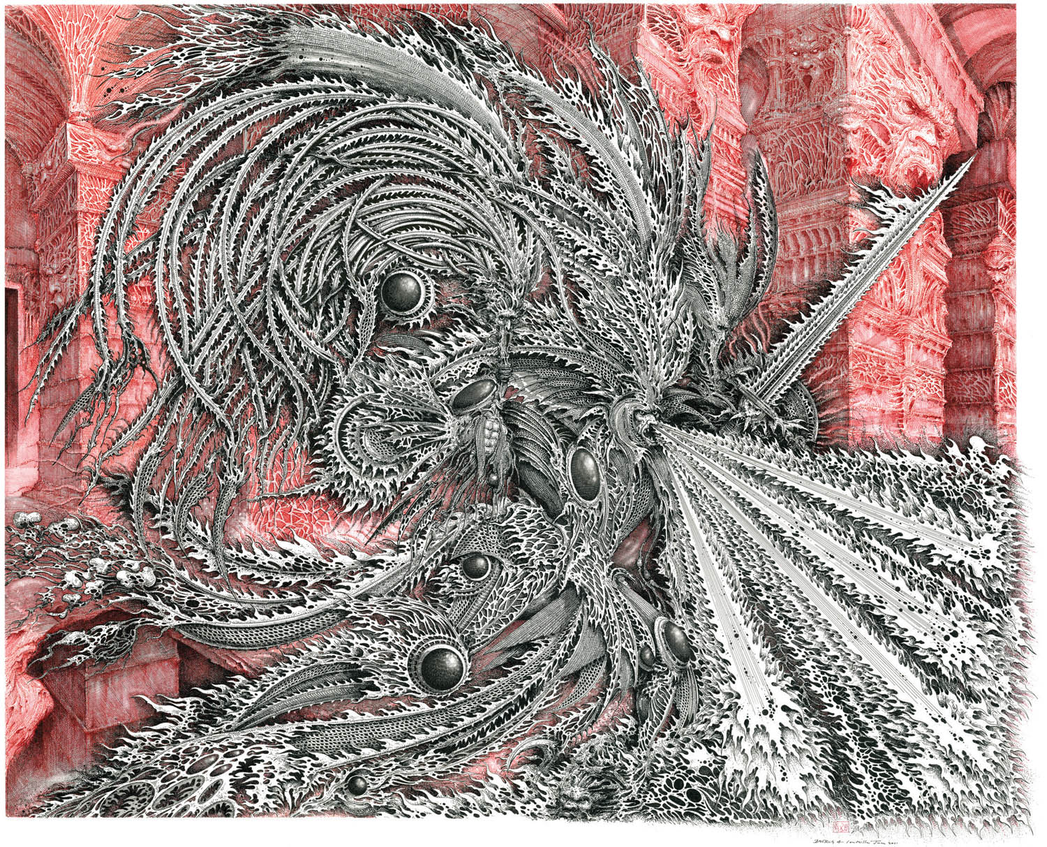 Fish Fiends And Fantasy The Gothic Art Of Ian Miller