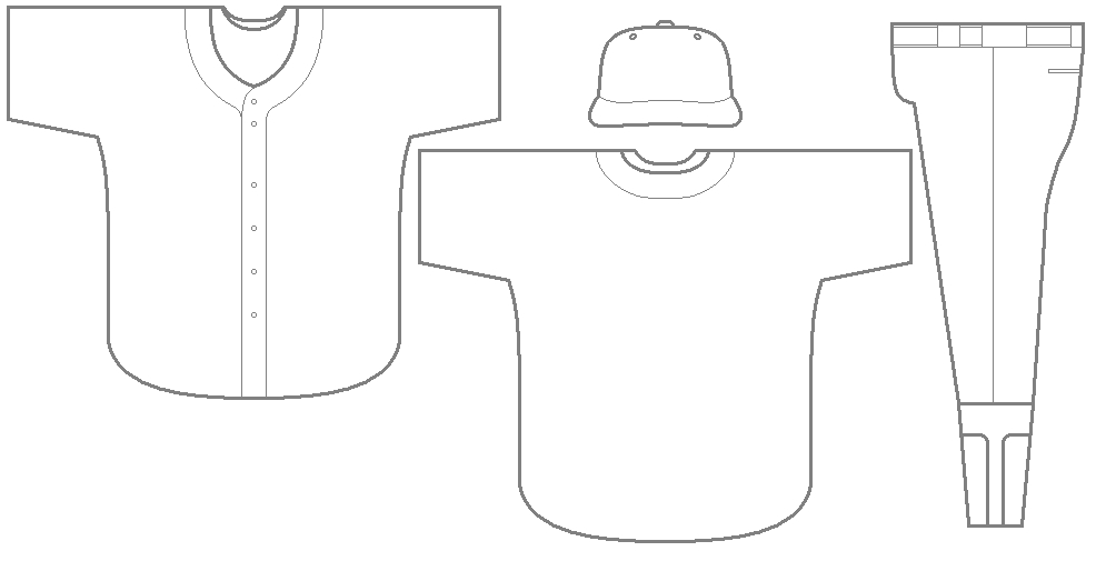 Jersey Templates. bbr sides. coloring pages. baseball jerseys ...