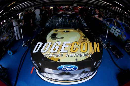 NASCAR fans answer 'What is Dogecoin?' at Talladega ...