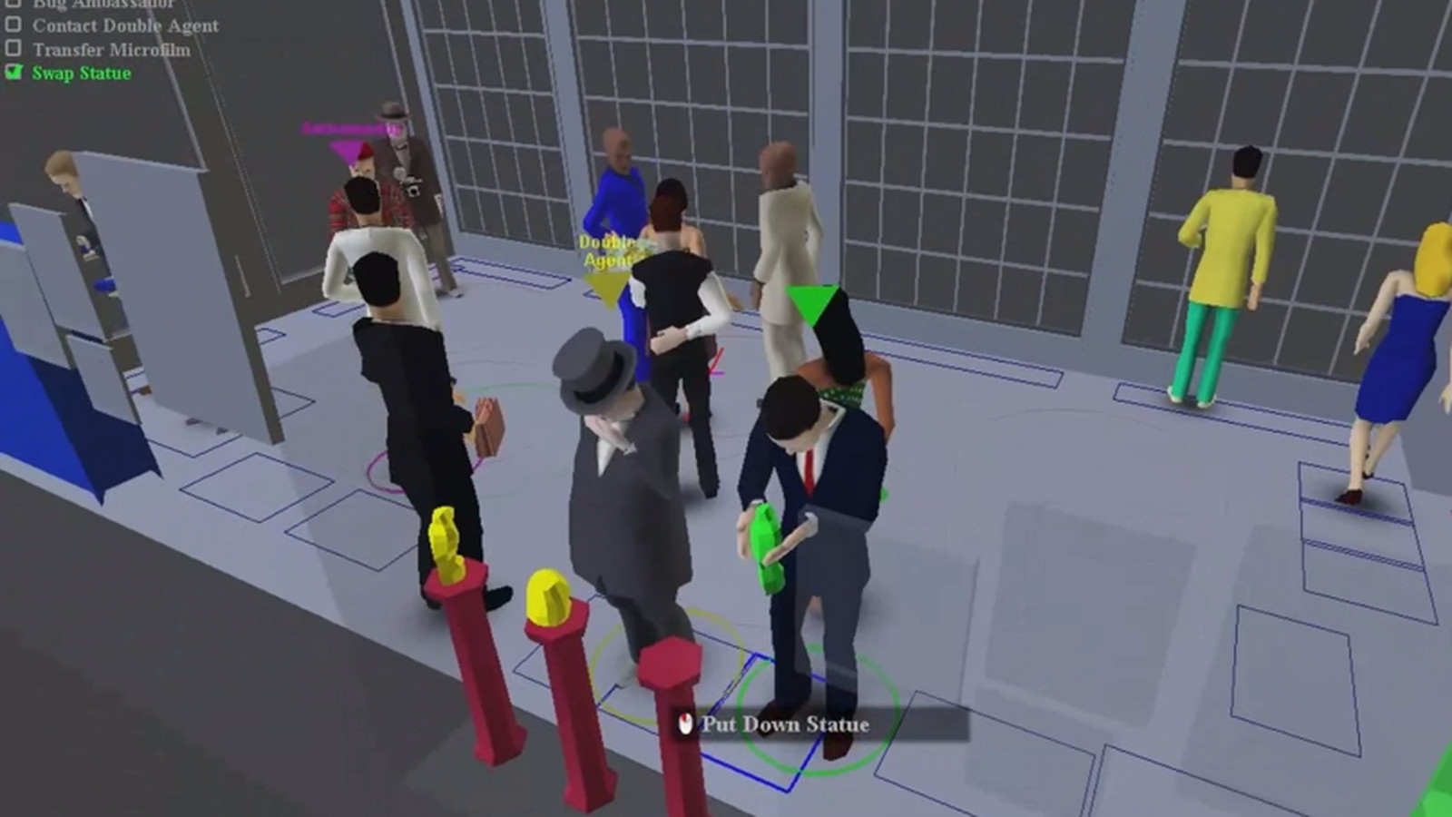 Spy Party Tutorial Teaches The Art Of The Steal Swap