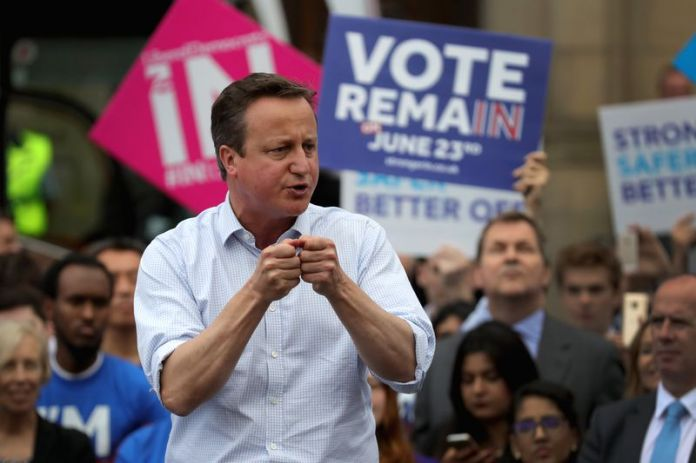The Prime Minister Gives His Final EU Referendum Campaign Speech