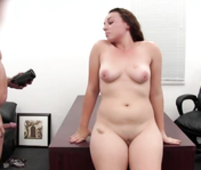 Nerdy Chubby Slut Having Sex In Backroom Casting Couch Video
