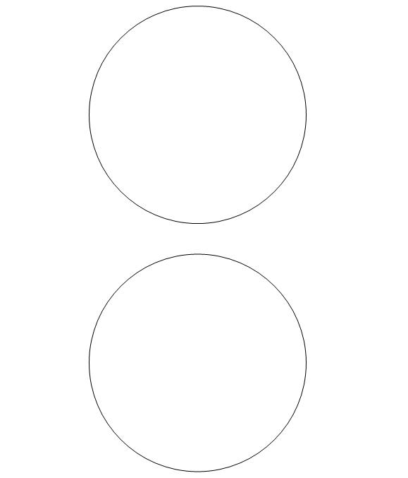 35 Inch Circle Pattern