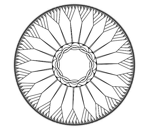 How to Make Your Own Mandala Coloring Pages for Free ... | free online mandala coloring pages for adults