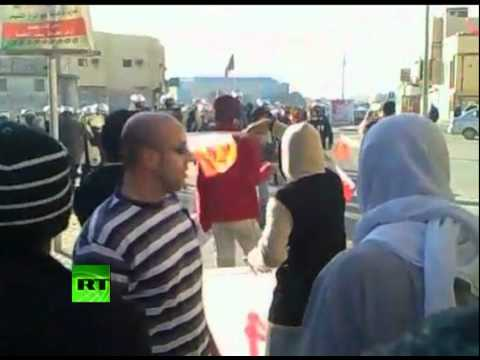 Video of deadly Bahrain protests as violence escalates in Manama
