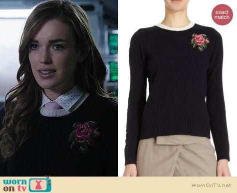 WornOnTV Jemmas Flower Sweater On Agents Of SHIELD
