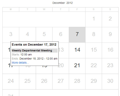 Google Calendar inside a WordPress post