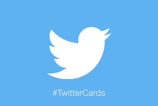 Menambahkan Kartu Twitter ke situs WordPress