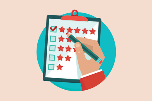Check ratings and reviews for a WordPress theme