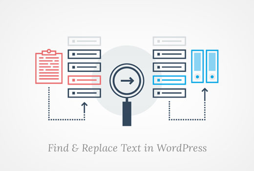Find and replace text in WordPress database with just one click