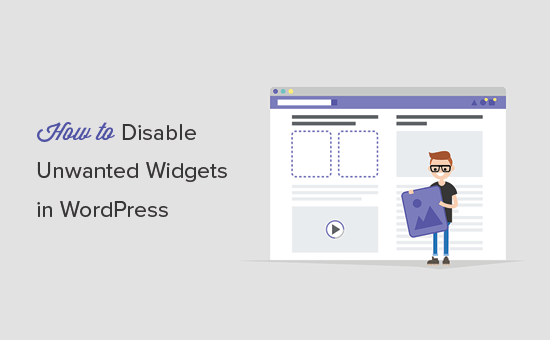 Remove unwanted widgets in WordPress