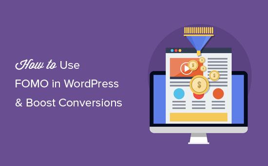 Добавление FOMO в WordPress для увеличения конверсии