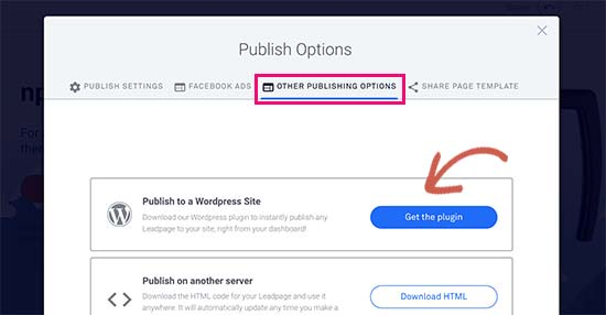 Get WordPress plugin