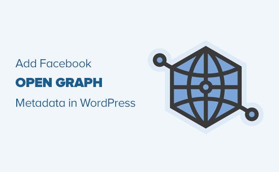 Add Facebook open graph meta data in any WordPress theme