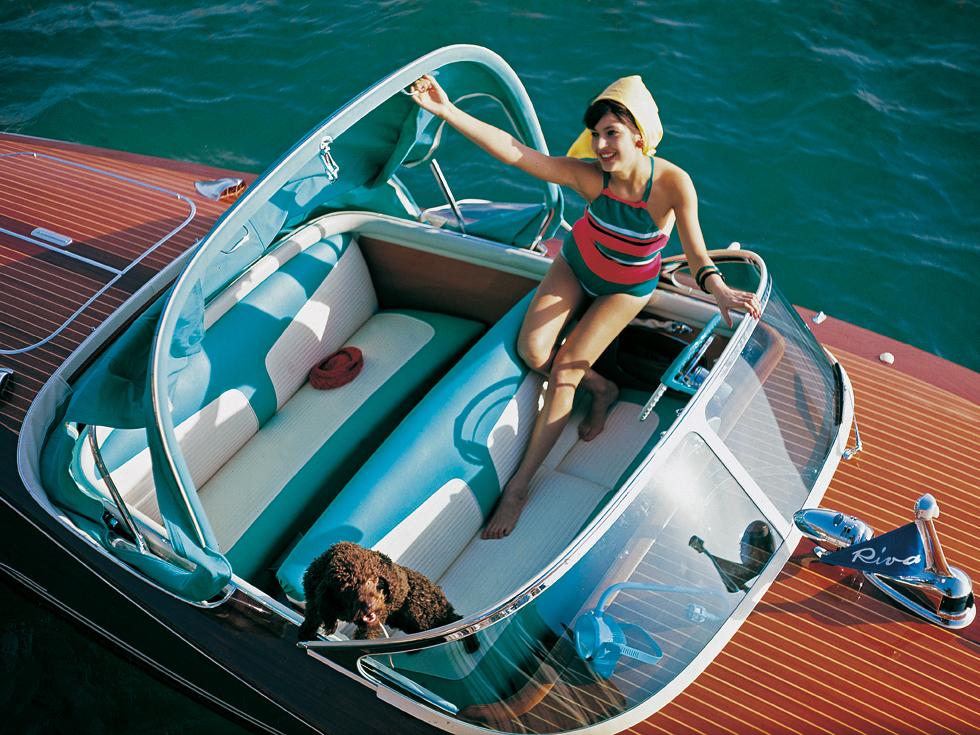 the glamorous heyday of riva boats