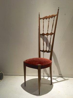 chaise chiavari a haut dossier italie 1940s