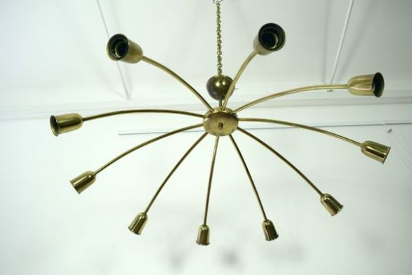 Large Spider Ceiling Lamp by J T  Kalmar for Kalmar  1950s for sale     Large Spider Ceiling Lamp by J T  Kalmar for Kalmar  1950s 2