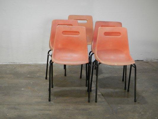 chaises vintage de grosfillex set de 5