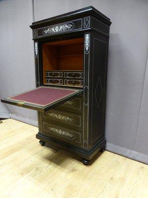 antique napoleon iii blackwood secretaire