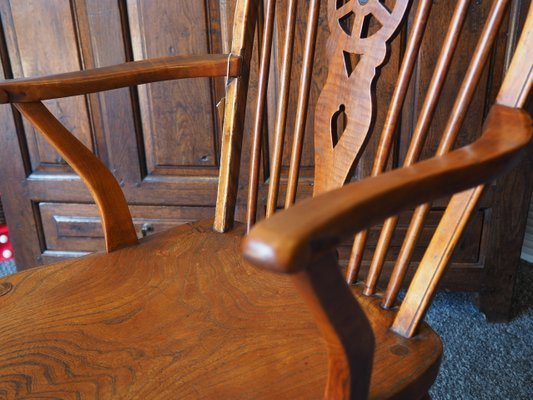 chaise de salle a manger rustique antique en orme
