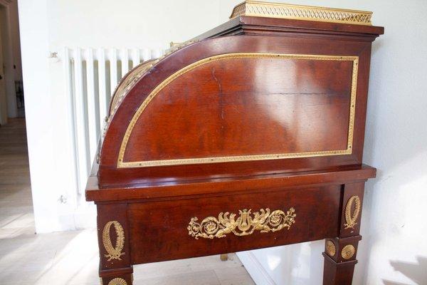 antique empitre style flap secretaire