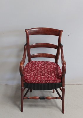 fauteuil ancien en bouleau