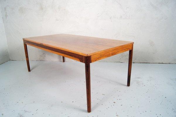 swedish rosewood coffee table 1960s