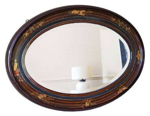 miroir ancien en acajou