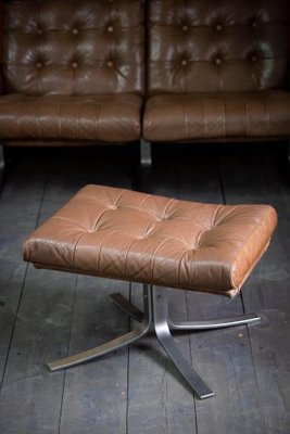 mid century armchair sofa and ottoman set by ebbe gehl soren nissen for jeki mobler set of 3
