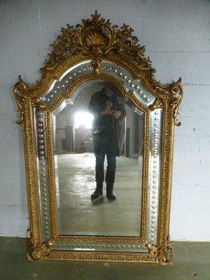 miroir napoleon iii antique avec reserves