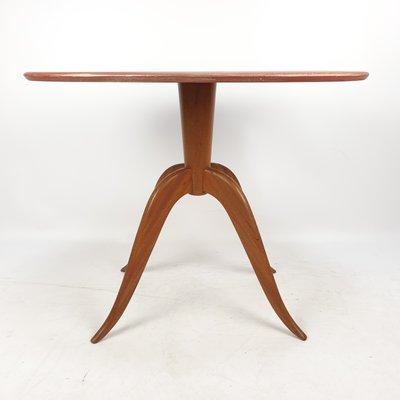 italian oval coffee table 1960s