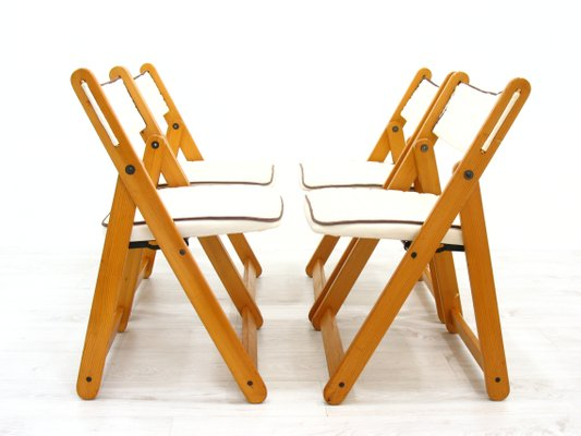 Folding Chairs From Ikea 1980s Set Of 4 For Sale At Pamono