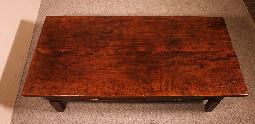large antique coffee table 19th century