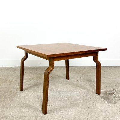 vintage coffee table with bent legs